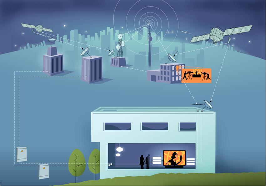 tv spielfilm illustration referenzen kommunikations design extrembeweglich. Black Bedroom Furniture Sets. Home Design Ideas